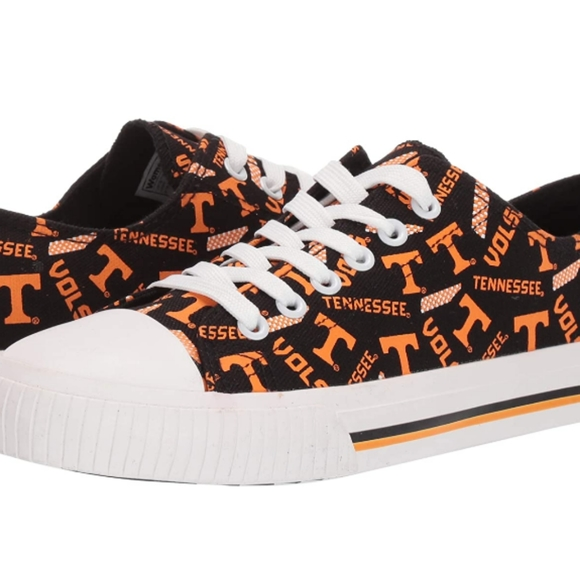 Tennessee Volunteers Converse Sneakers Shoes. Size